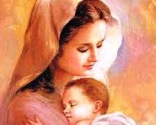 Navdušena mlada mamica