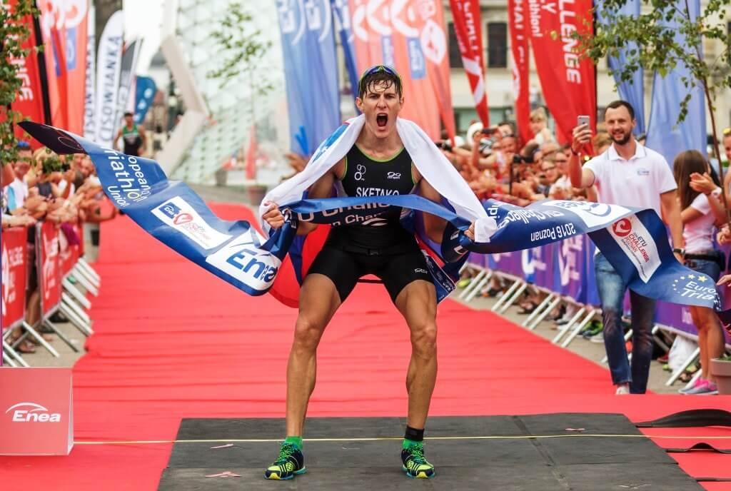 Denis Šketako - evropski prvak v triatlonu