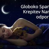 Globoko spanje za manj prehladov in grip