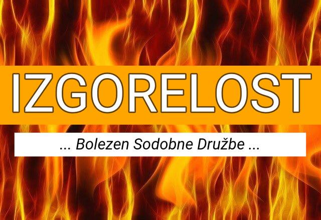 Izgorelost - bolezen sodobne družbe