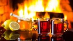 Kuhanček in čaj z limono in medom
