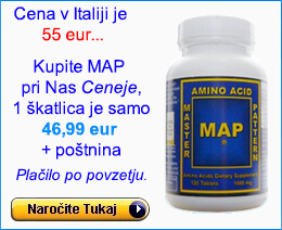 MAP Aminokisline Nakup