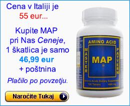 Nakup MAP (120) Aminokislin
