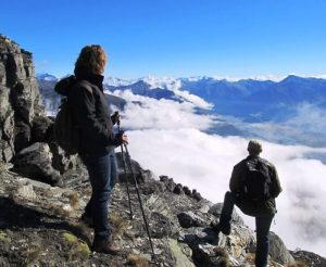 Planinarjenje daje moč