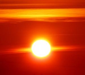 Sončna svetloba je vir življenja.