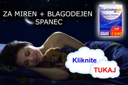 Melatonin za lahek spanec