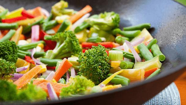 Zelenjava v voku